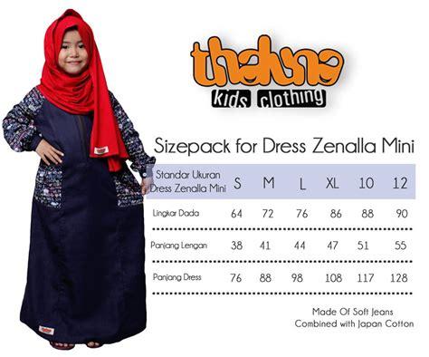 Bergo Kerudung Anak Elsa Size Jumbo By Thaluna 5 size pack dress zenalla mini thaluna