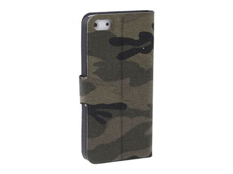 Army Iphone 5 5s camouflage army sideflip hoesje voor iphone 5 5s
