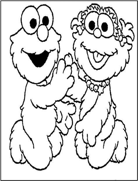 coloring pages elmo free printable elmo coloring pages for kids
