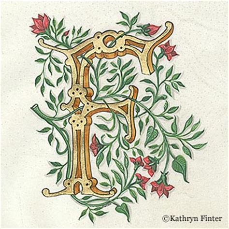 Home Decoration Pieces by Kathryn Finter Contemporary Manuscript Illumination