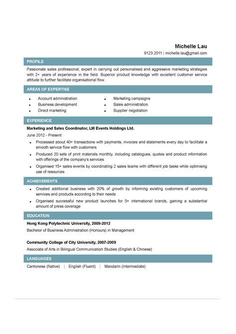 Sales Coordinator Resume by Sales Coordinator Resume Exles Http Www Jobresume