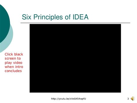 six principles of idea idea 2004 fall2012