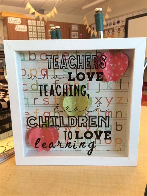 Cricut Explore Teacher Appreciation Projects | teacher shadow box cricut for the classroom cricut for
