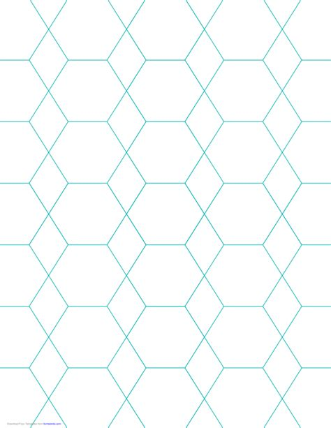 hexagon graph paper hexagon and graph paper with 1 inch spacing on