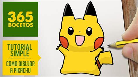 imagenes kawaiis de picachu como dibujar a pikachu kawaii paso a paso dibujos kawaii
