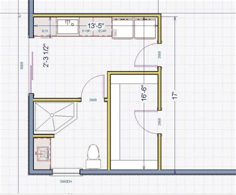 kitchen floor plans with dimensions delightful small l shaped kitchen on small bathroom floor