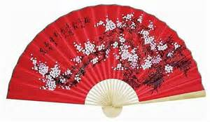 new year fan decoration 1 60 quot feng shui asian floral 1