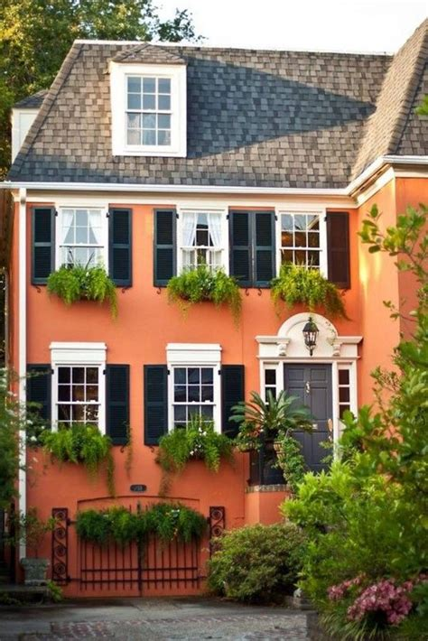 orange exterior house paint color combinations house exteriors paint colors