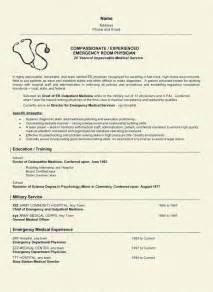 How To Write A Resume For A Doctor by Curriculum Vitae Sles For Doctors