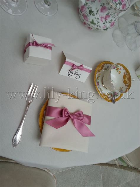 Folding Paper Napkins With Ribbon - 17 best images about napkin designs on