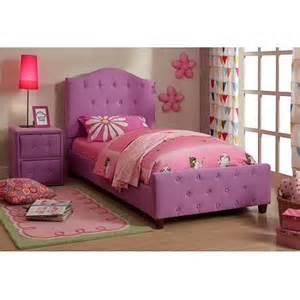 Toddler Bed Upholstered Upholstered Bed Purple Walmart