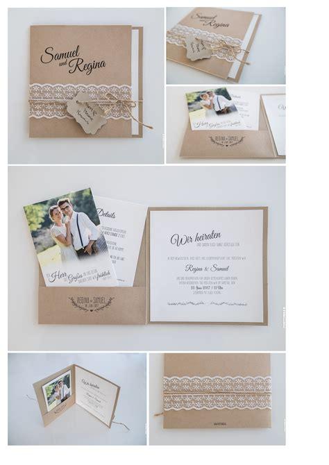 Hochzeitseinladung Pocket Folder by Hochzeit Einladung Vintage Vorlagen