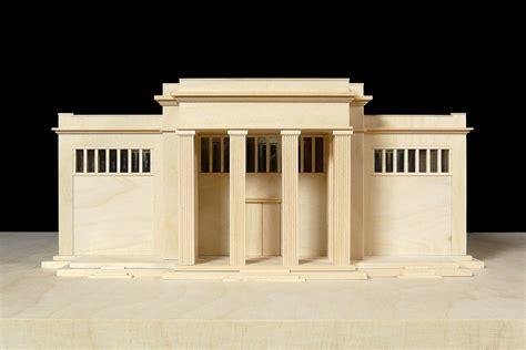 pavillon venedig architekturmodell deutscher pavillon in venedig b 233 la