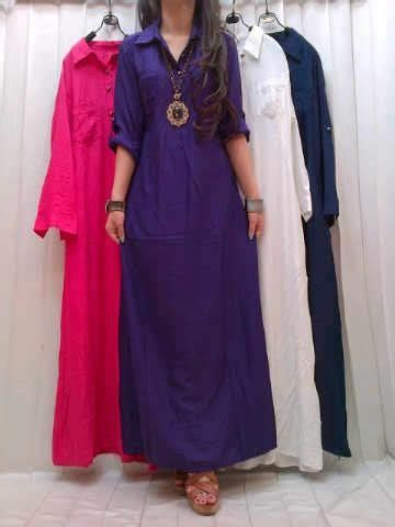 Baju Gamis Katun Baju Gamis Katun Ab13 Limited Fashion