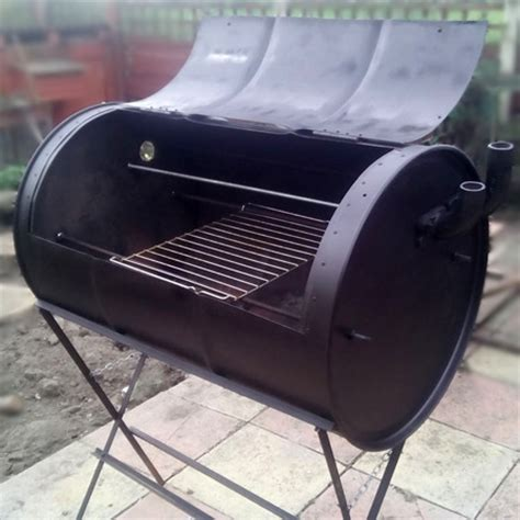 how to build your own no weld drum bbq smoker your projects obn landscaping cape town professional landscaping services