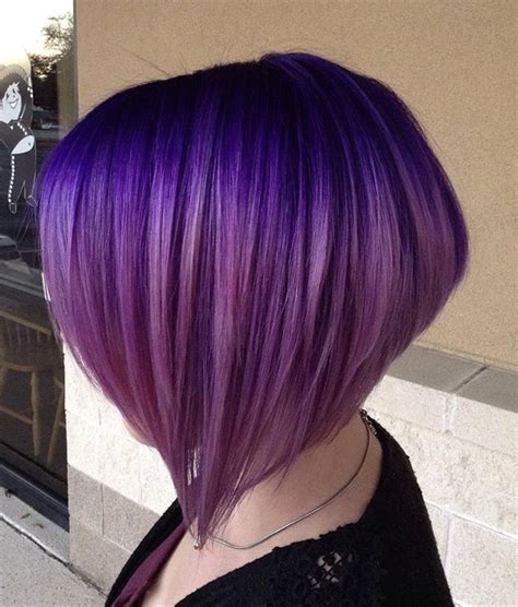 Purple Hairstyles by 45 Best Hairstyles Using The Fashionable Shade Of Purple