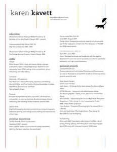 how to design a resume kavett