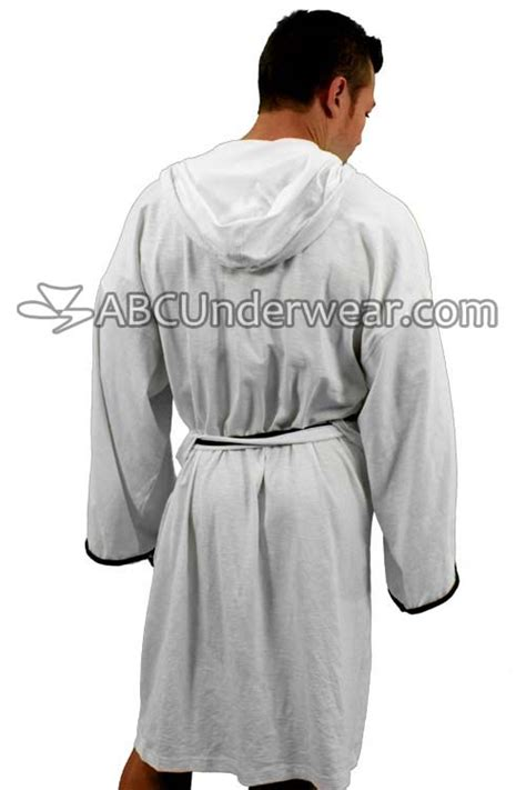 zen robe cotton slub hooded zen tie front sleep and lounge robe