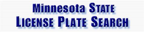 License Plate Lookup Mn License Plate Search License Plate Lookup