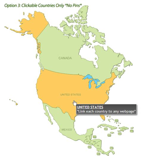 interactive map of america continent interactive map of america by art101 codecanyon