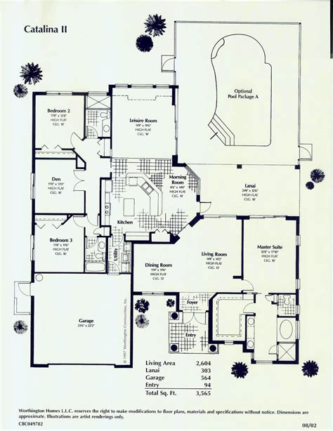 florida style home floor plans southwest florida florida style custom homes worthington homes
