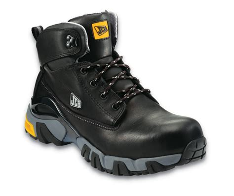 safety boots jcb waterproof 4x4 black safety boot industrial workwear