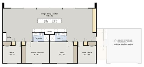 studio type house plan
