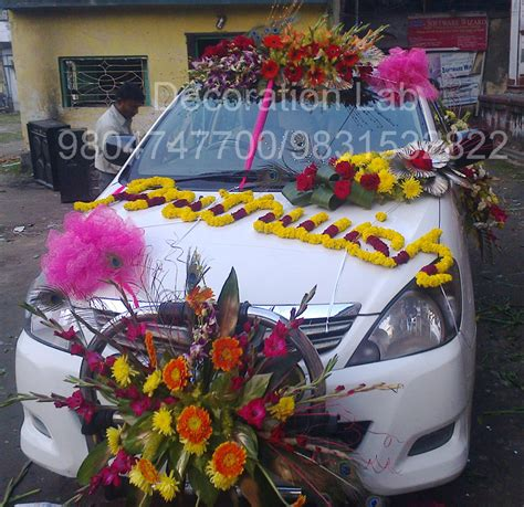 about decoration car decoration wedding decorations in kolkata flower
