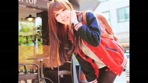 imagenes de coreanas adolescentes moda coreana 한국어 패션 youtube