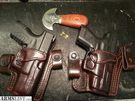 Handmade Leather Gun Holsters - armslist for sale custom leather holsters