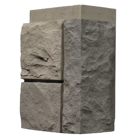 nextstone random rock tri gray 11 in x 7 in faux