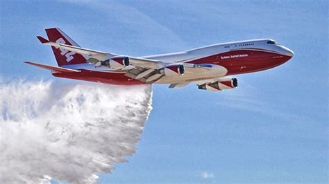 this boeing 747 is being this boeing 747 is the world s firefighting beast