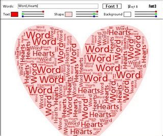 words that describe valentines day a like wordle s computer
