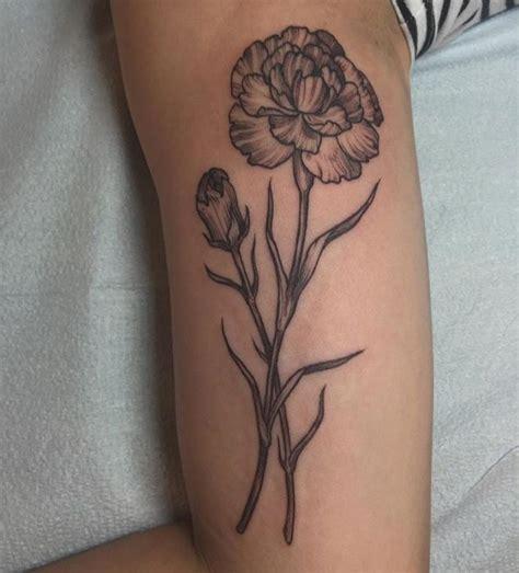 rachel hauer tattoo carnation hauer