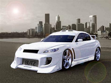 modded sports cars fast cars mazda rx 8 sports car