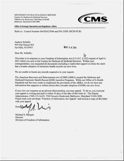 Patient Participation Letter Medicare Letter Images