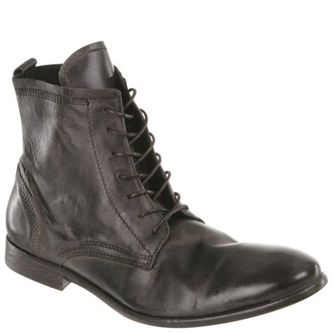 hudson s swathmore calf leather boots black