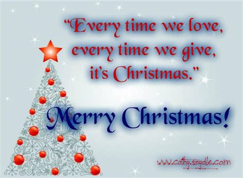 cute christmas quotes cathy
