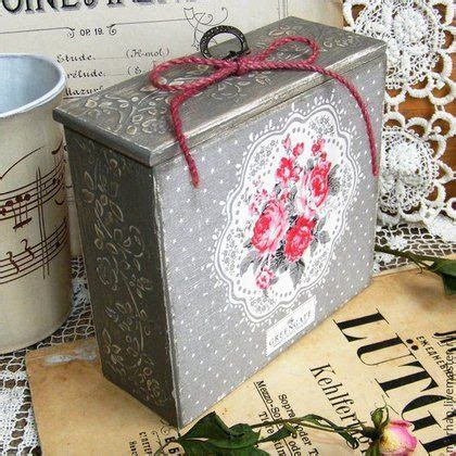 Decoupage Cardboard Box - decoupage box decoupage and boxes on