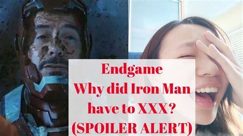 iron man death endgame iron man die