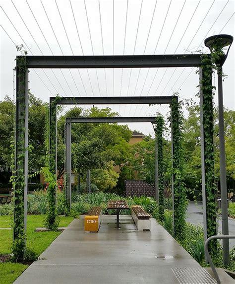 Foley Rest Park, cable trellis   Tensile Design