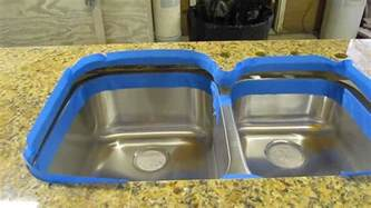 How Do You Install A Kitchen Sink How To Install An Undermount Sink To A Granite Countertop If You Want It Done Right Diy