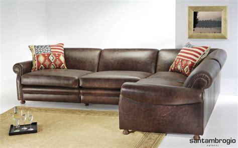 archiexpo divani divani in pelle rustici calore