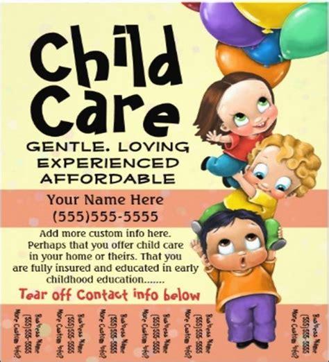 free babysitting flyer template