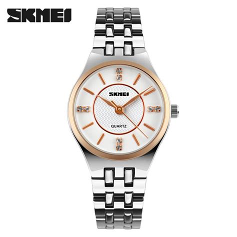 Skmei Casio Fashion Water Resistant 30m 1133cs skmei jam tangan analog wanita 1133cs gold