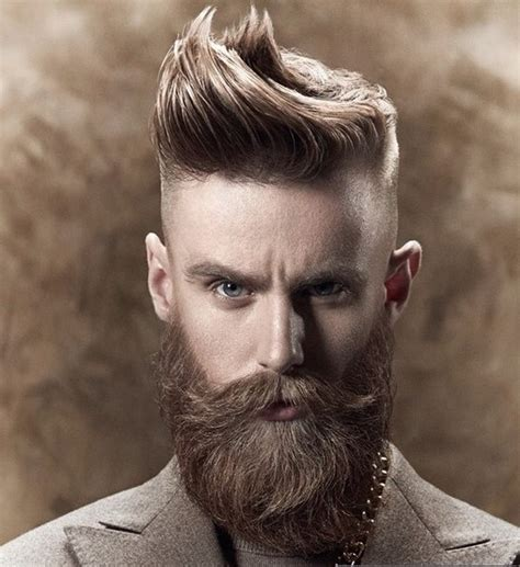 men taper on the sides with beard best 40 shaved sides hairstyles and haircuts for men