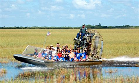 boat ride miami groupon coopertown airboat tours in miami fl groupon
