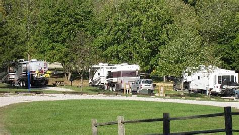 rv cing picture of falls creek cabins and cground