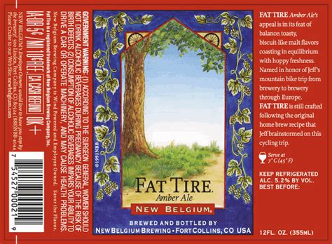 A Fabulous New Label by Labels Great Divide New Belgium Peak