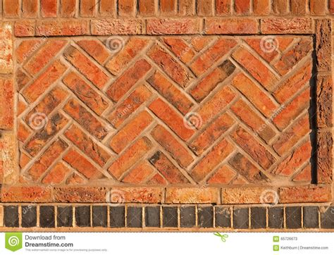 herringbone pattern wall red herringbone brick wall seamless background stock photo